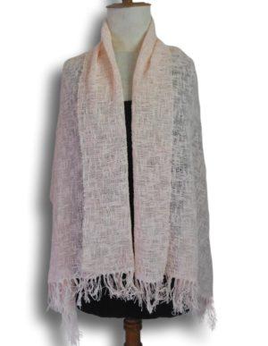 Etole tissage point de toile. un bel effet grâce à sa laine